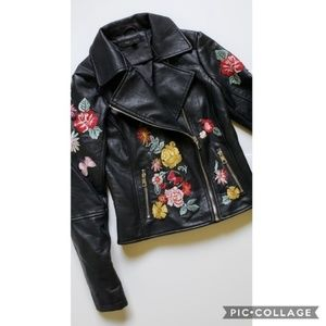 Vegan Leather Romeo & Juliet Couture Jacket